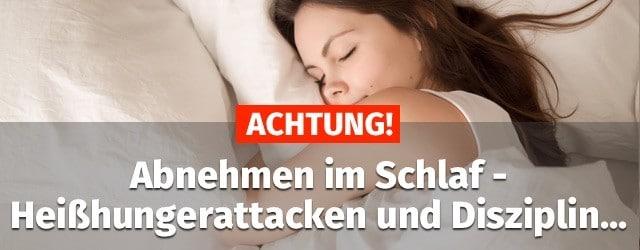 Abnehmen Im Schlaf Erfahrungen