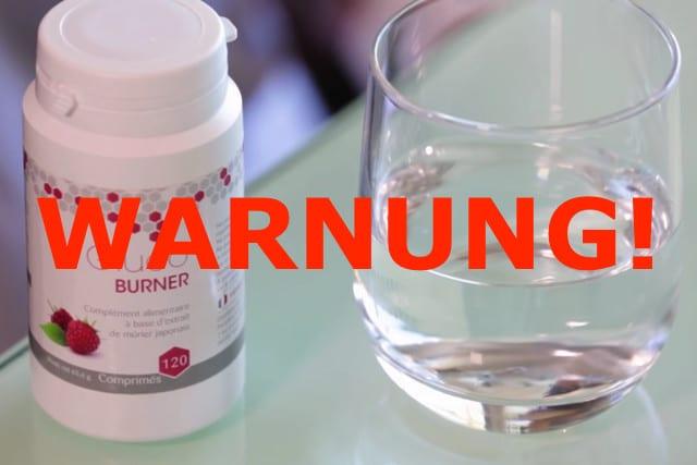 warnung glucoburner kapseln tabletten abnehmpillen test erfahrungen