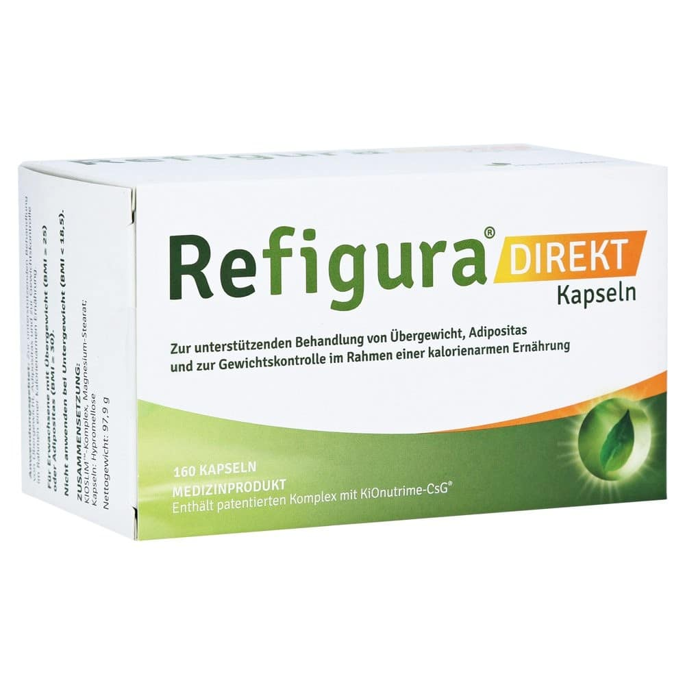 Refigura Kapseln Tabletten Dosierung Pille Einnahme Abnehmen