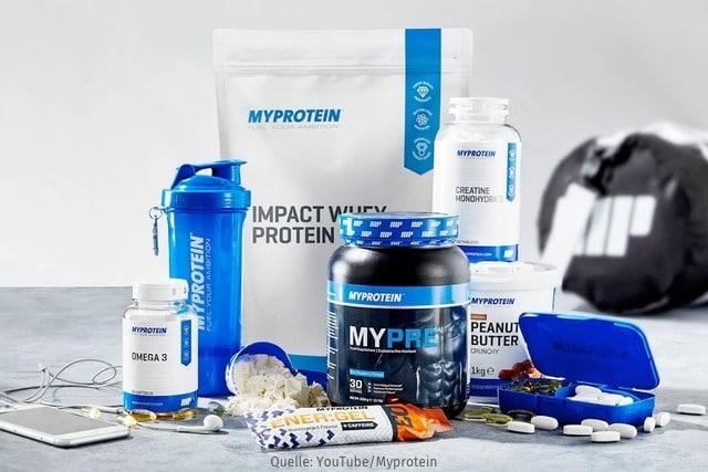 myprotein erfahrungen test abnehmen fitness