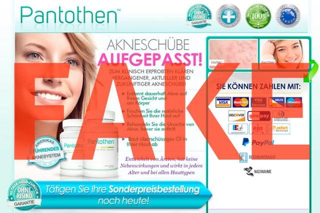 pantothen akne apotheke kaufen erfahrungen test bewertung