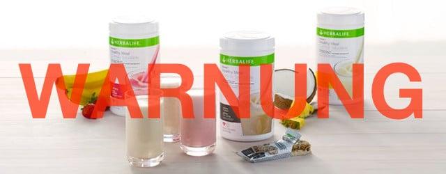 herbalife shake produkte formula 1 test erfahrungen warnung nebenwirkungen