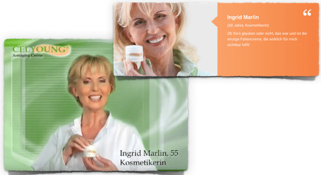 celyoung test antiaging creme