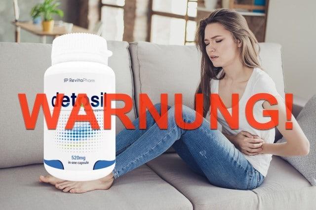 detosil warnung