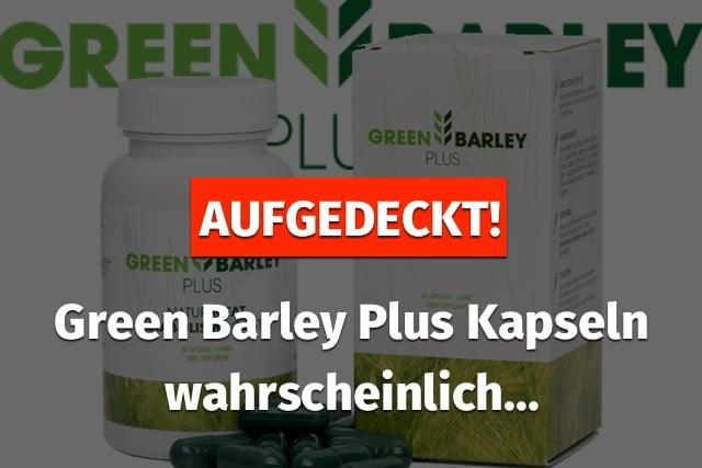 Green Barley Aufgedeckt 1