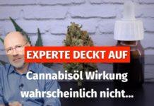 Cannabisöl Experte zur Wirkung