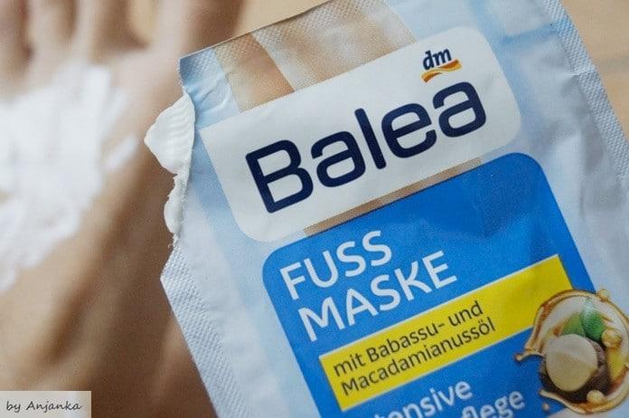 Balea Fußmaske Beitragsbild 1