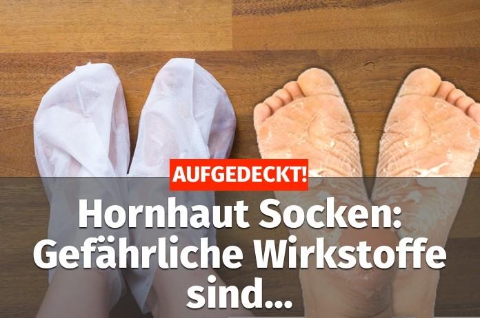 Hornhaut Socken Beitragsbild