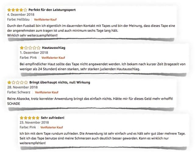 aktimed tape plus bewertungen amazon test erfahrungen