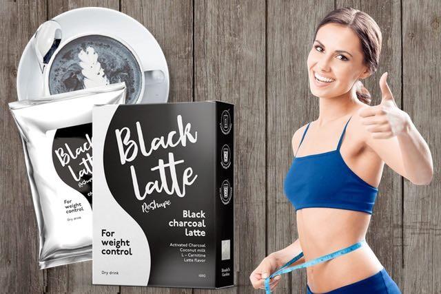 black latte abnehmen