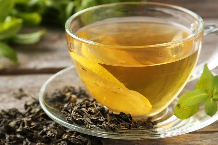 gruener tee abnehmen beitragsbild
