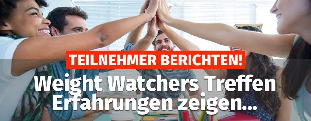 weight watchers treffen erfahrungen