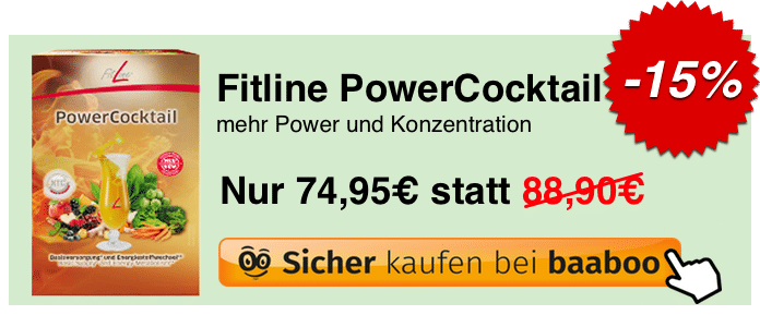 Fitline PowerCocktail Banner (SL)